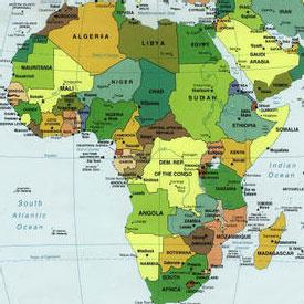 Carte De Lafrique Francophone.Cinquantenaire De L Independance De L Afrique Francophone