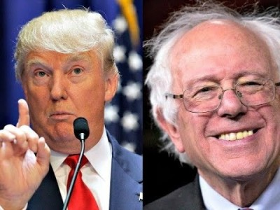 Trump and Bernie