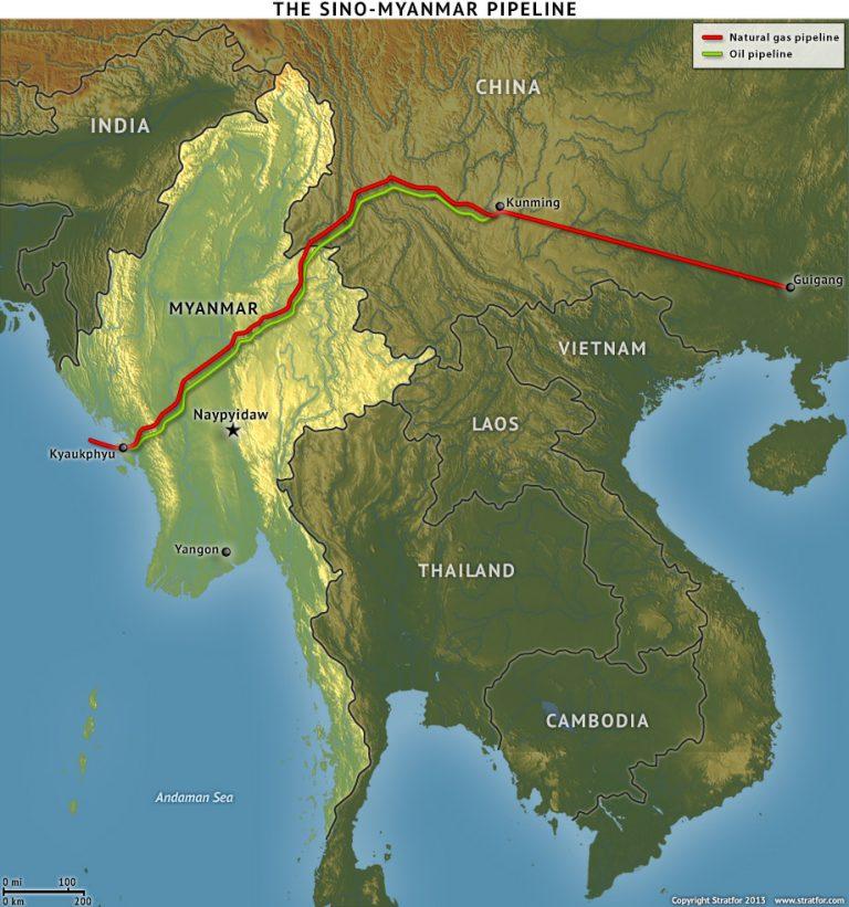 PAYSANS : TOUS DES PLOUCS ? et perdus pour un avenir révolutionnaire ?  Myanmar_gaz-p%C3%A9trole-routes-768x821